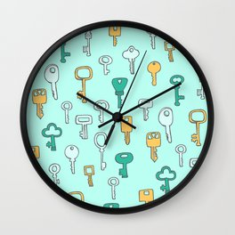 Keys Wall Clock