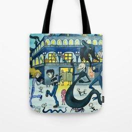 Dancing in the Street  Tote Bag