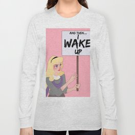 Protest Princess: Sleeping Beauty Long Sleeve T-shirt