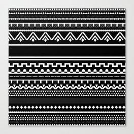 Graphic_Black&White #6 Canvas Print