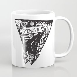 Psychoville black ink drawing Coffee Mug