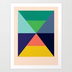 Dhurrie Ocean 3 — Matthew Korbel-Bowers Art Print