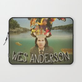 The Mind of Wes Anderson Laptop Sleeve