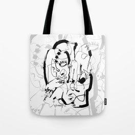 Seduction - b&w Tote Bag