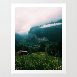 Jungfrau, Switzerland Art Print