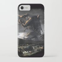 kaiju iPhone & iPod Cases featuring El Kaiju by SkullsNThings