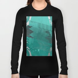Silicon Greens Long Sleeve T-shirt