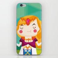 zelda iPhone & iPod Skins featuring Zelda by suupergirl