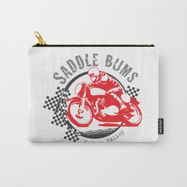 Saddle Bums: Riding the Lower Hudson Valley and Beyond Carry-All Pouch