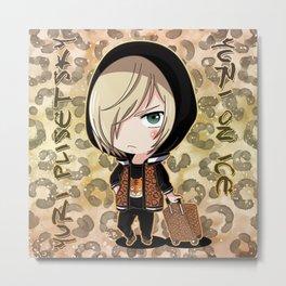 Yuri leopard version Metal Print