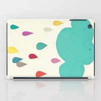 sunshine iPad Cases featuring Sunshine and Showers by Cassia Beck