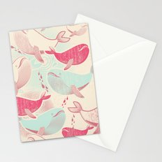 Whale ReUnion Stationery Cards