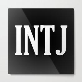 INTJ Metal Print