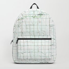ND Grafton 285427 1985 topographic map Backpack
