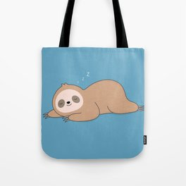 Kawaii Cute Lazy Sloth Tote Bag