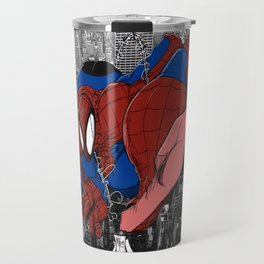 Spidey and the City Travel Mug