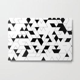 grid-003 Metal Print