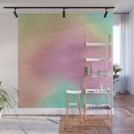 Simply Metallic in Iridescent Rainbow Wall Mural