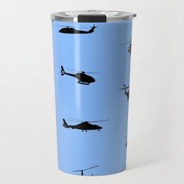 Helicopter Pattern Travel Mug