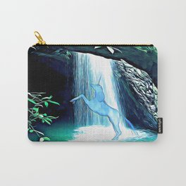 The Secret Under the Waterfall Carry-All Pouch