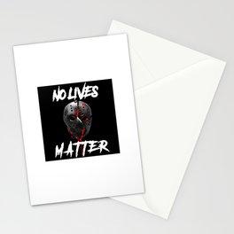 No Lives Matter Stationery Cards