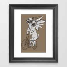 Steam Punk Chihuahua Framed Art Print