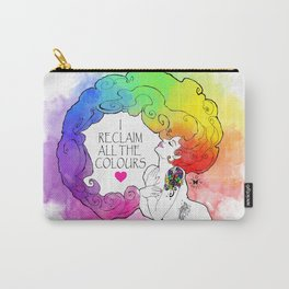 Reclaiming All Colours Carry-All Pouch
