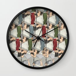 Heracles - Warriors Wall Clock