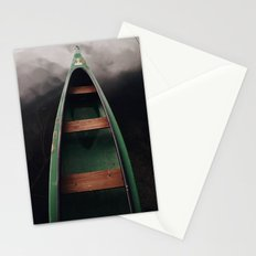 Storm under boat Stationery Cards