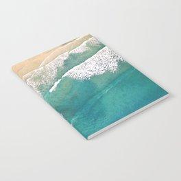 Turquoise Sea Beach Notebook