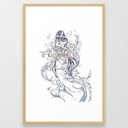 Inner Eden Framed Art Print