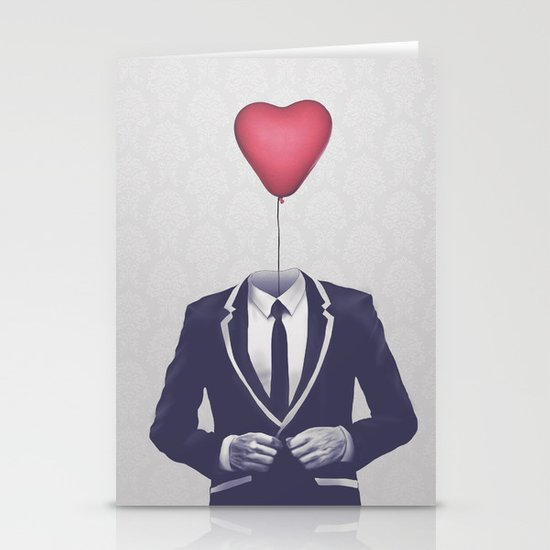 Mr. Valentine Stationery Cards