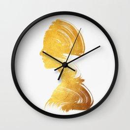 See - Gold Edition Wall Clock