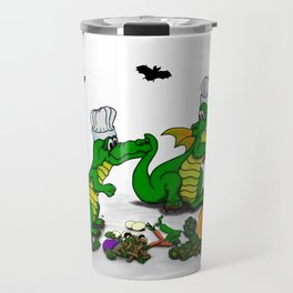 Dragons - Happy Halloween ! Today I will cook Travel Mug