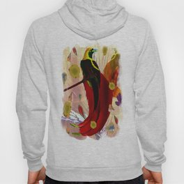 The Bird of Paradise  Hoody