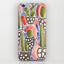 Cocktail Bling Plants iPhone Skin