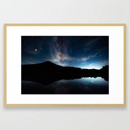 Summer Stars in the Smokies Framed Art Print