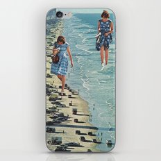 Walk on the Beach iPhone & iPod Skin