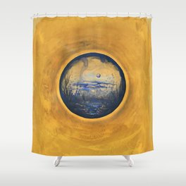 Somewhere in the Sun Shower Curtain