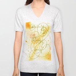 Golden Dream Unisex V-Neck