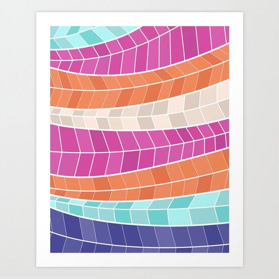 SUMMERPINK2 Art Print