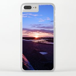 Beauty at the Beach Clear iPhone Case