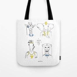 Hipster Boys Club Tote Bag