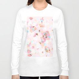 Terrazzo Crystals I. Long Sleeve T-shirt