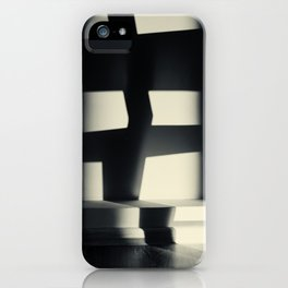 German Expressionism Experiment Abstract Shadows iPhone Case