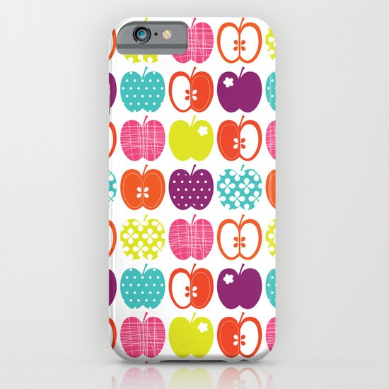 Textured Apples iPhone & iPod Case