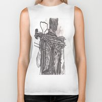 daryl dixon Biker Tanks featuring Daryl Dixon by Layla Atchison