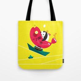 Quiet Boat Tote Bag