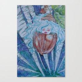 Acorn Fairy Canvas Print