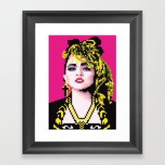 Virgin-like girl Framed Art Print